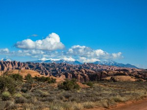 Rocks & Mountains in Moab