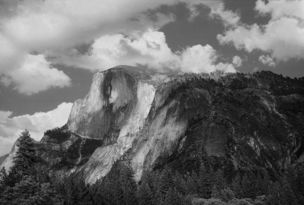 Half Dome, Yosemite Valley 1966