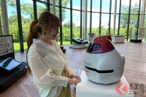 日産のロボットカー「エポロ」が楽しく解説!? 先進運転支援技術の仕組みを知るには
