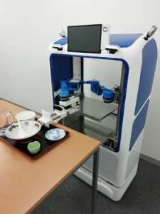 スマイルロボ、NEDO STS事業に採択! 食器を下げられるロボットの...