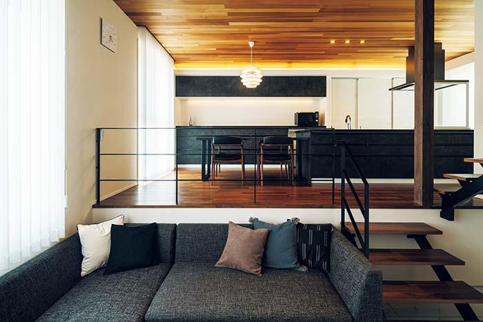 生活の場としての機能性・快適性と、そこに居るだけで気分が高揚するようなデザイン空間。その全てを同時に叶えるためのベストなバランスを追求するのが〈AREX / アーレックス〉の家づくりの基本