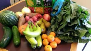 Fresh Fruits Veggie Coop