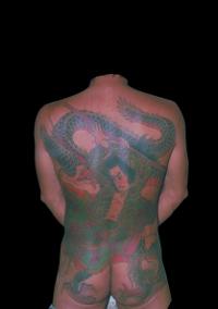 A tatuagem é sinal de que a pessoa se entregou de corpo e alma à organização