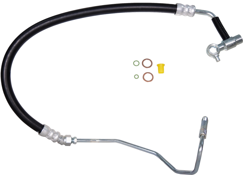Apdty Power Steering High Pressure Hose Line Fits