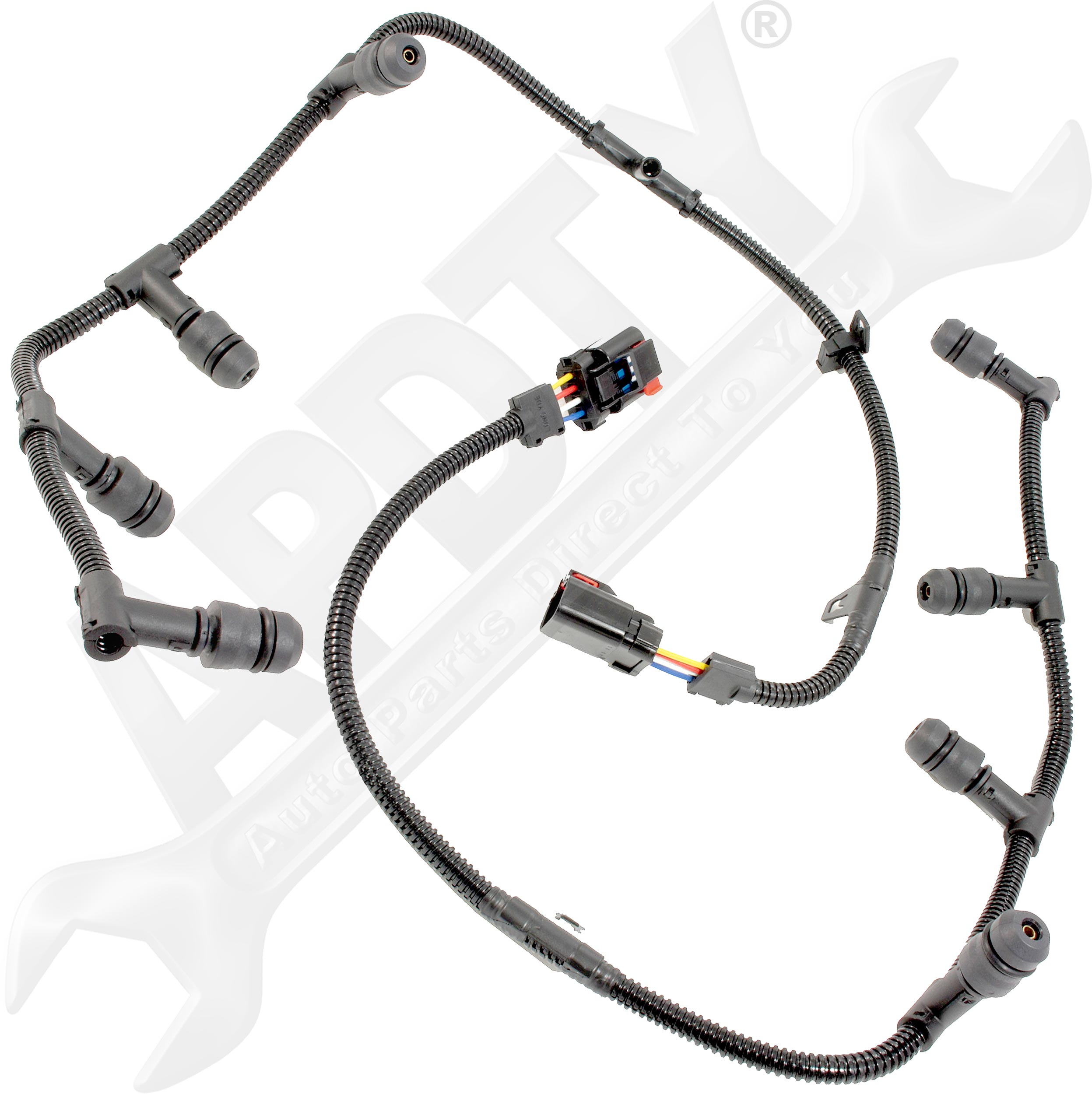 Apdty Glow Plug Wiring Harness Assembly Left Amp Right For Ford 6 0lsel