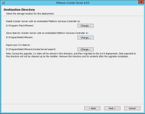 vCenter-Directories