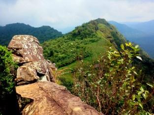 Nearing the Summit - Parrot's Peak