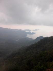 Hamilo Coast as seen at the Parrot's Peak