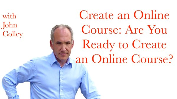 Create an Online Course.001