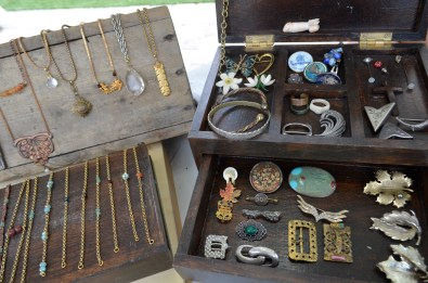 vintage and up-cycled jewelry