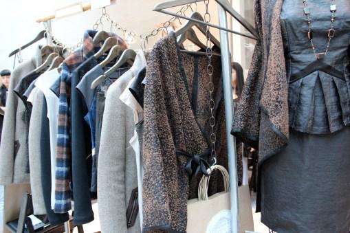 rack of Vespertine clothing