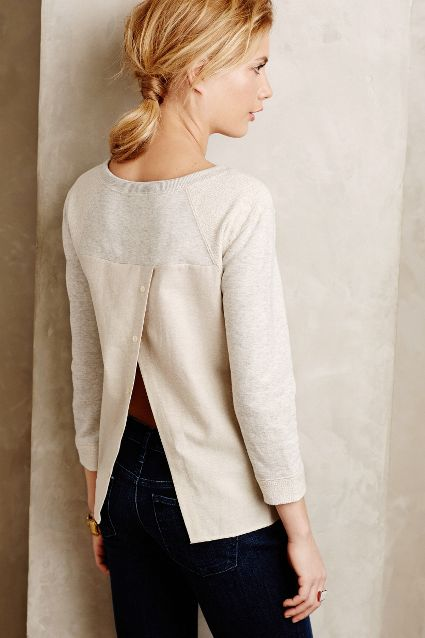 Piecework Sweatshirt, Preloved for Anthropologie