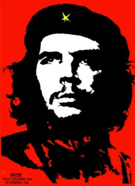 Jim Fitzpatrick portrait of revolutionary Ché Guevara