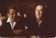 Frère Robert Giscard (Taizé) et Jacques Berthier