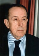 Dernière photo prise de Jacques Berthier, en juin 1994, rue de Tournon à Paris