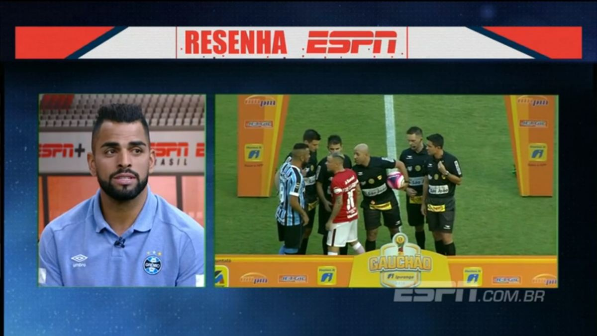 Olha o que o Maicon falou do D'Alessandro no Resenha, da ESPN