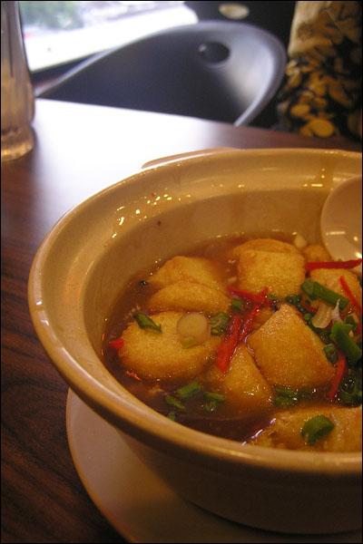 Claypot Tofu, a must!