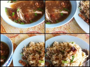 Nasi Goreng Kampung / Sup Ayam