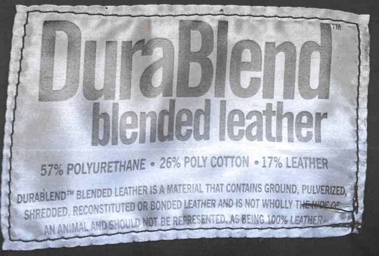 Isaac v. Ashley Furniture - DuraBlend Label