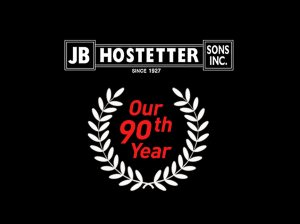 JB Hostetter 90th Year