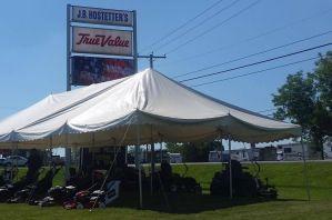 JB Hostetter's Tent Sale 2019