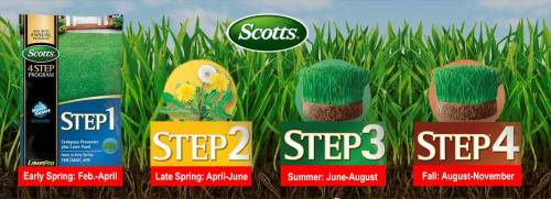 scotts 4-step fertilizer