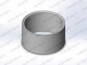 Кольцо для колодца КС 15.9 с замком по ГОСТ 8020-2016