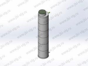 Однокамерный септик из жб колец под ключ для семьи