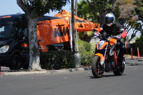 Rennie Scaysbrook on KTM