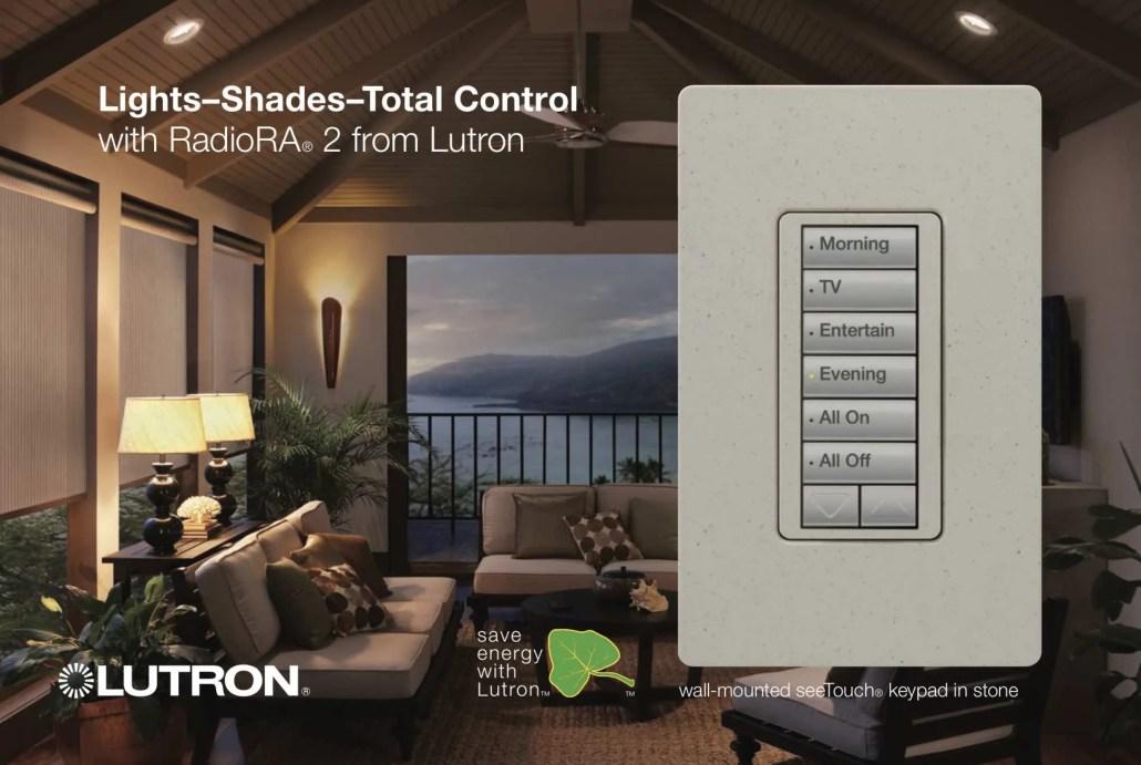 Lutron Radio RA Keypad
