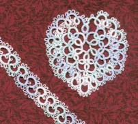 Valentine Heart A pattern designed for an internet tatting exchange Tatting