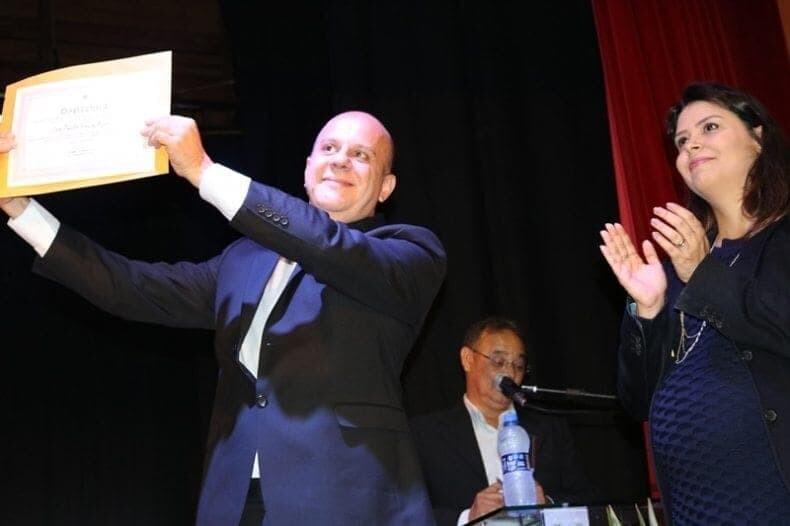 Zé Paulo e Dra. Valéria são diplomados com vereadores de Antonina e Guaraqueçaba 1
