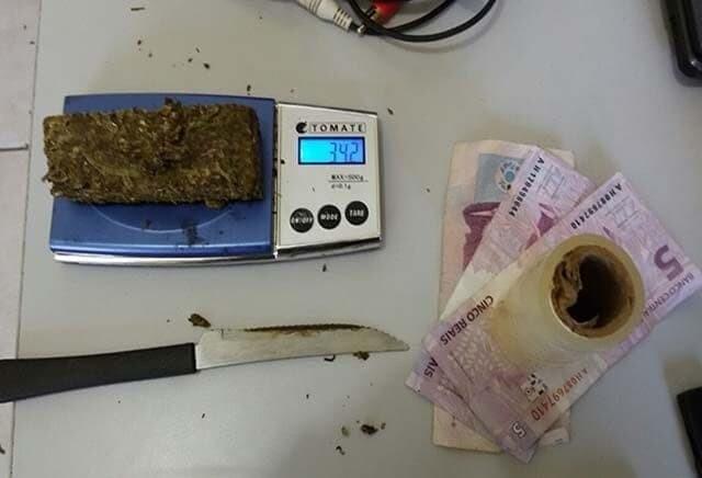 PM prende mais um com drogas em Guaratuba 1