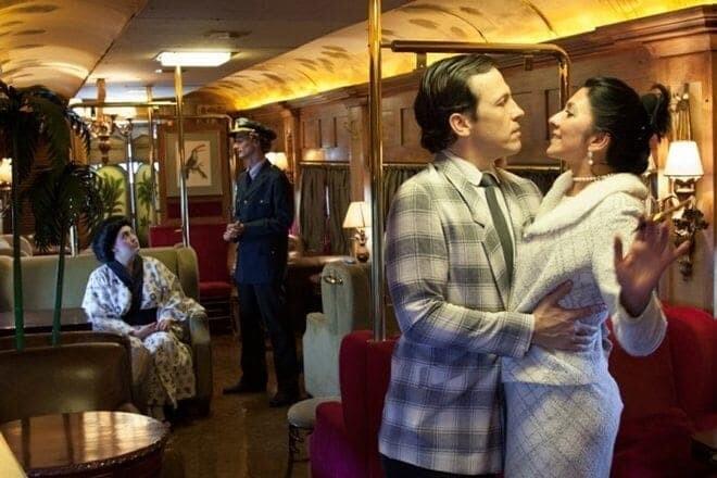 Trem de luxo que viaja ao litoral receberá peça teatral inédita 1
