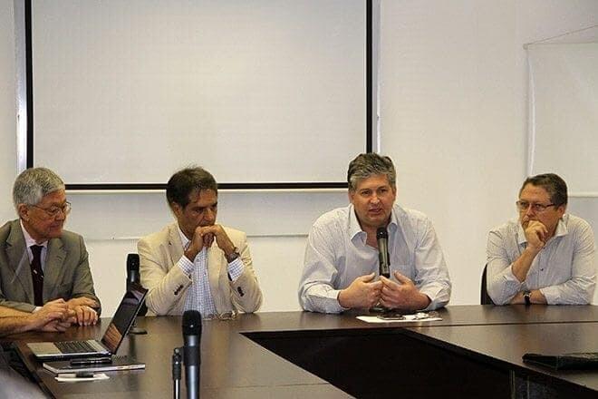 Grupo que discute alterações na poligonal dos portos conhece detalhes do projeto para Pontal 1