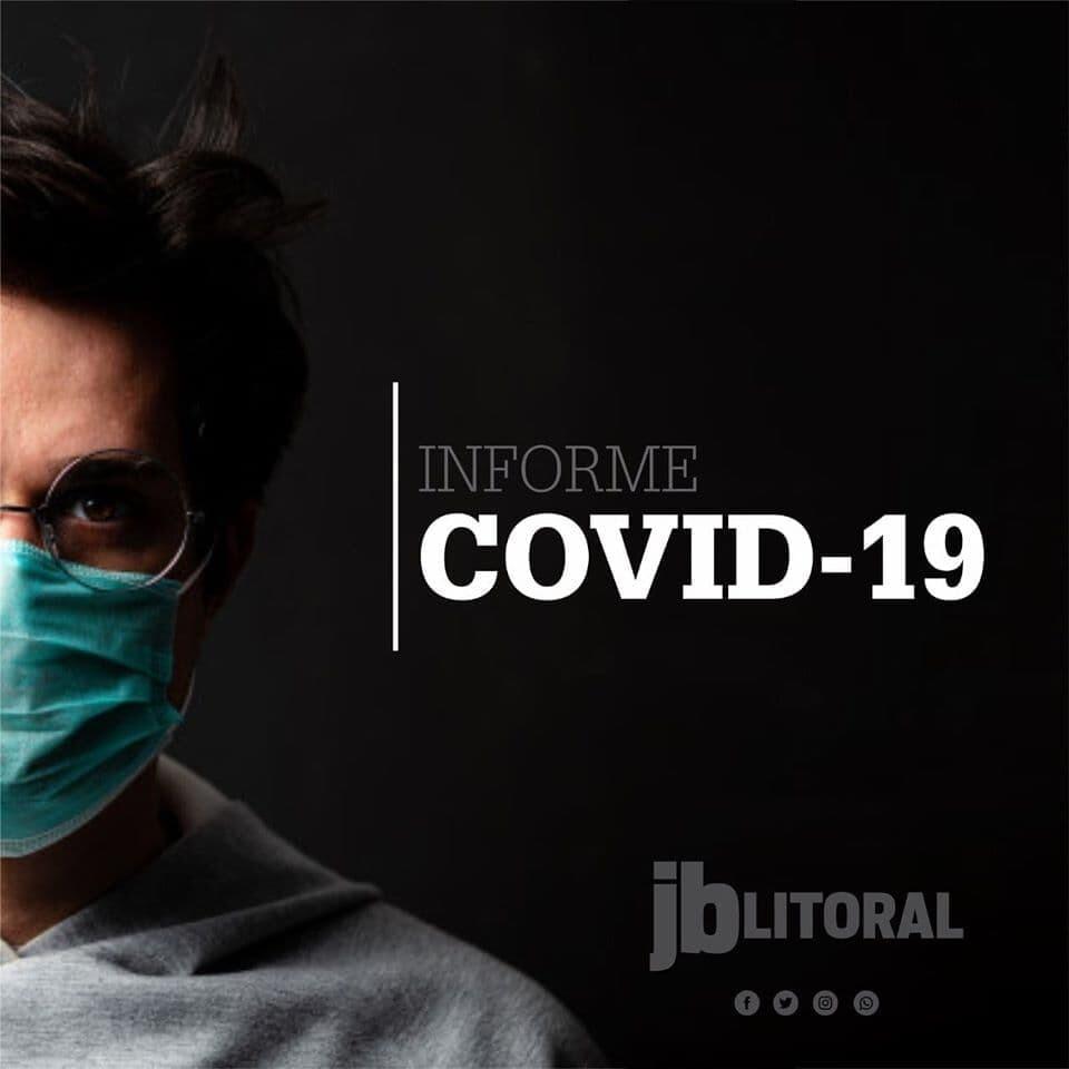Dos 63 casos confirmados de Covid-19 no litoral, somente quatro estão internados 1