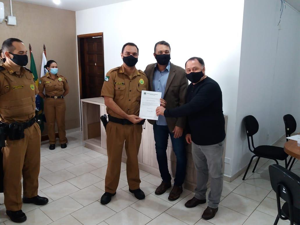 Ato heroico de policial militar é reconhecido pela Câmara em Matinhos 1