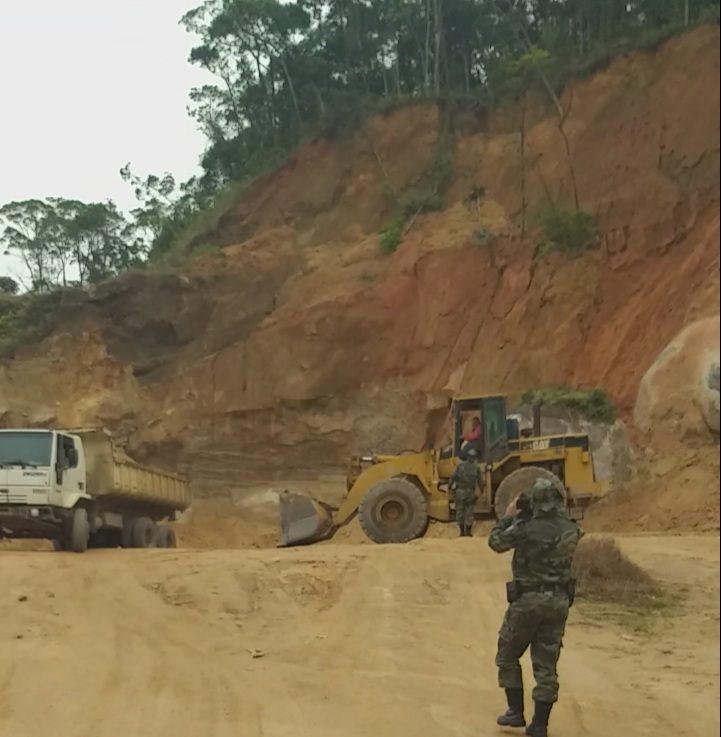Servidores da Prefeitura de Guaraqueçaba são denunciados por crime ambiental 1