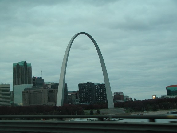 The Arch from the bridge