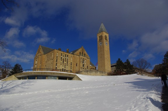Uris Library and McGraw Tower