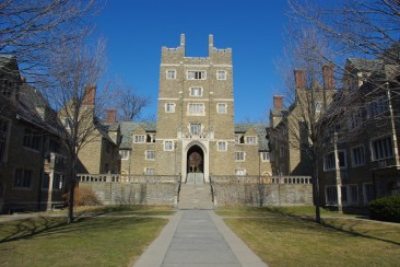 Baker Tower & Courtyard