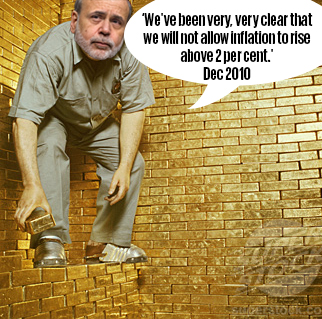 Ben Bernanke gold retirement
