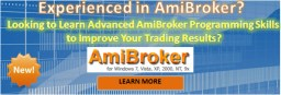 Learn Amibroker Advanced Amibroker course from Trading Markets