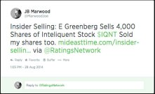 insider selling iqnt
