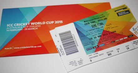 trade cricket matches world cup tickets
