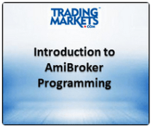 learn amibroker course introduction to amibroker programming