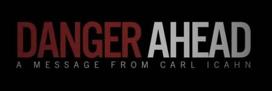 danger ahead carl icahn