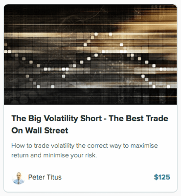 the big volatility short - the best trade on wall street