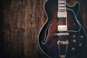 guitar as music-inspired home decoration