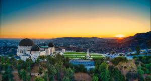 A look at the observatory in Griffith Park